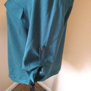 41 Hawthorn Tops - 41 Hawthorn Stitch Fix Emerald ButtonTop